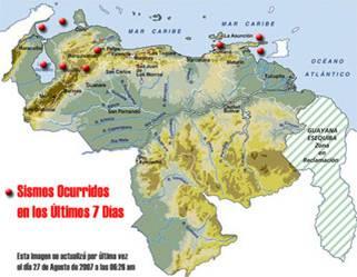 Fallas sísmicas están altamente activas según Funvisis